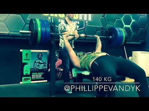 Bench Press 150 kg Press banca prince Nicaragua lifting