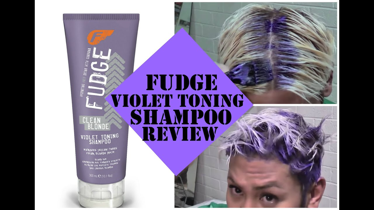 Fudge Clean Blonde Violet Toning Shampoo Product Review