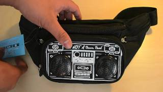 MP3 Speakers: BumBag Fanny Pack by Fydelity Review