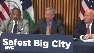 Mayor de Blasio and NYPD Commissioner O'Neill Hold Media Availability