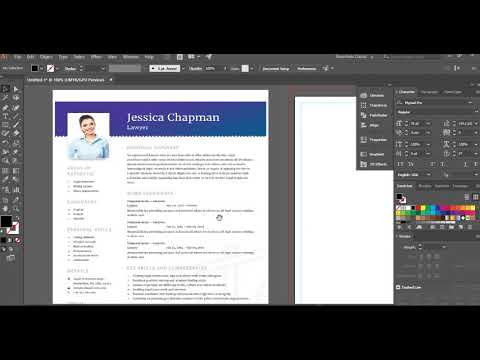 How to create Corporate CV submit to shutterstock part 01