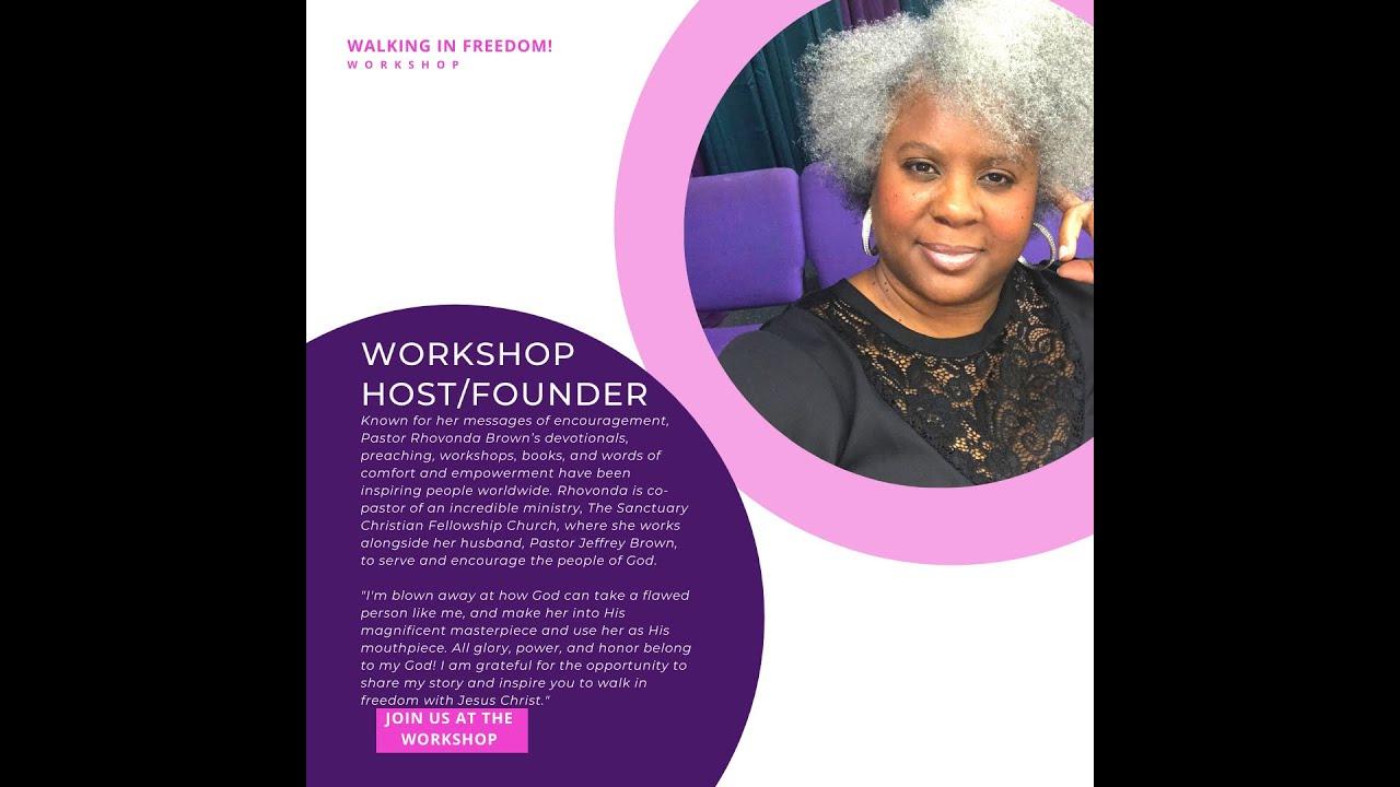 Walking in Freedom! Workshop: 2021 Workshop Speakers