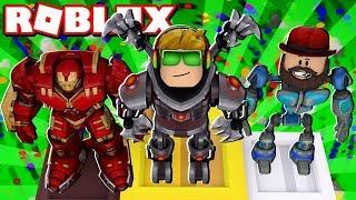NEXT GEN ROBOTS WINNING THE SHOW in ROBLOX FASHION FAMOUS / BLOX4FUN