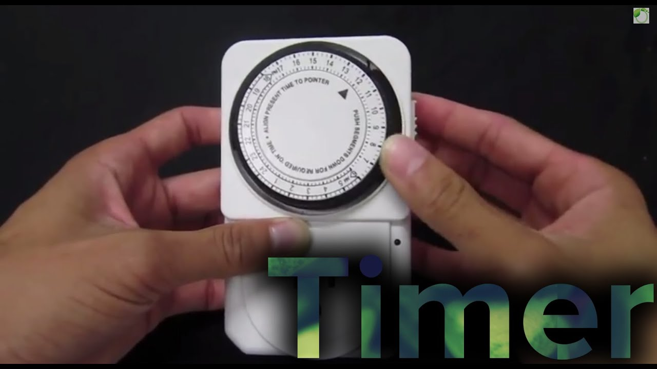 How to use a mechanical timer for hydroponics setup tutorial growace how to use a mechanical timer for hydroponics setup tutorial growace youtube publicscrutiny Image collections