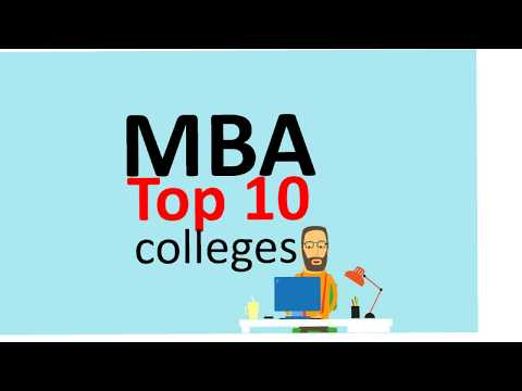 MBA top 10 colleges in India. Rankings.
