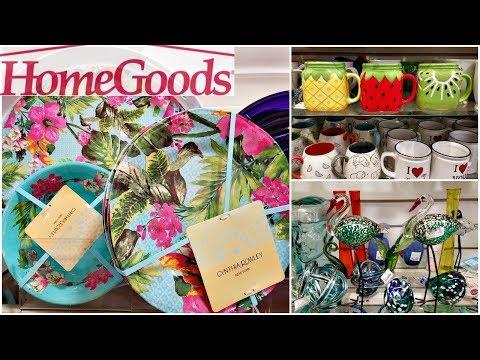 Shop With ME HOMEGOODS SPRING SUMMER KITCHEN DECOR CYNTHIA ROWLEY HOME IDEAS WALK THROUGH 2018