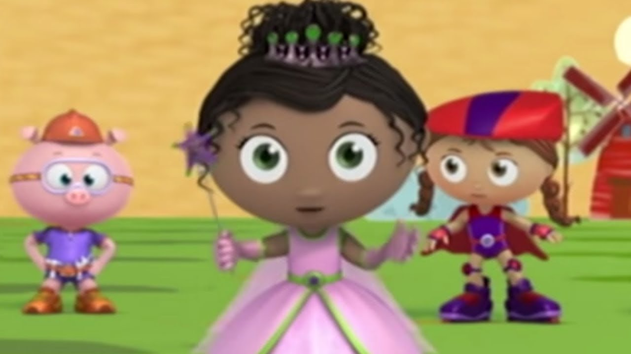 Super WHY! The Boy Who Cried Wolf + Rapunzel