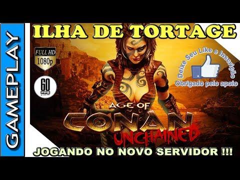 🔴 AGE OF CONAN GAMEPLAY NA ILHA DE TORTAGE – CONHEÇA O MMORPG GRATIS DE CONAN O BÁRBARO !