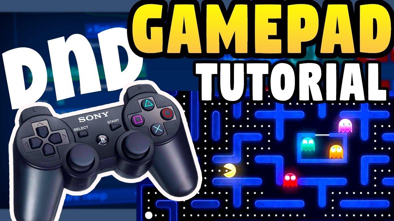 GameMaker Studio 2: Gamepad & Controller Tutorial - DnD - Drag and Drop