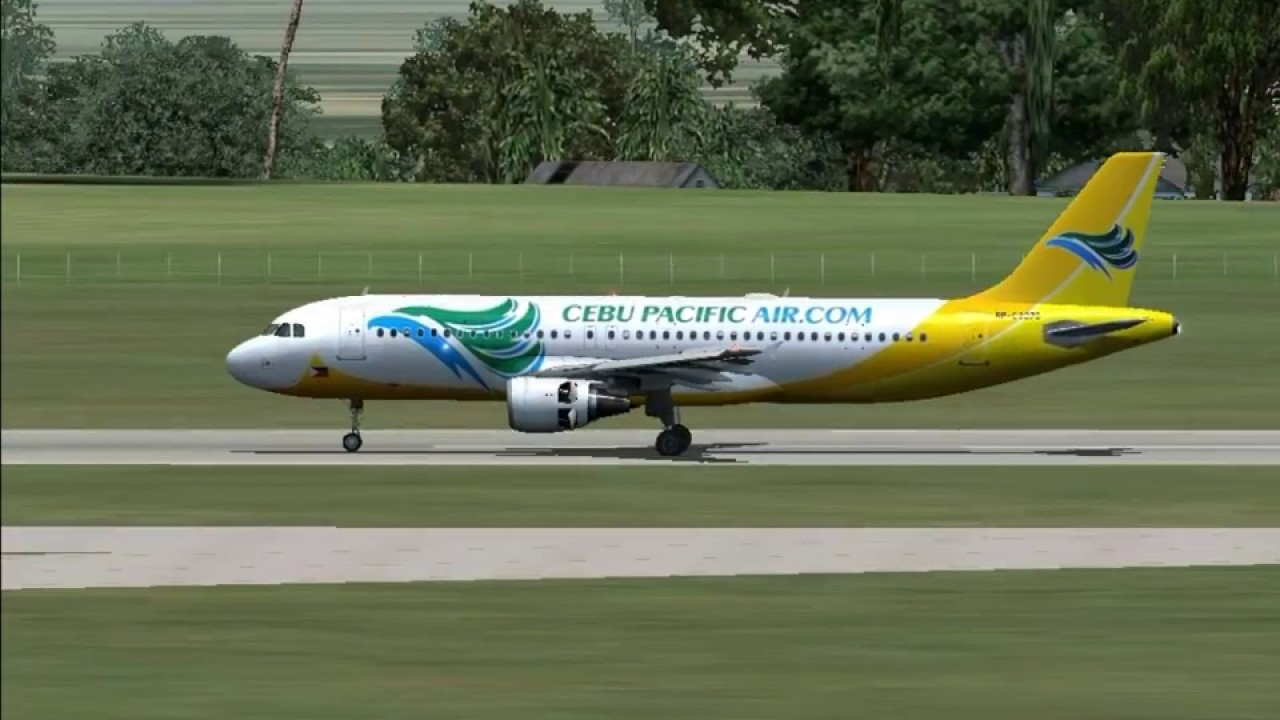 FSX Project Airbus A320 Cebu Pacific Mactan to Clark
