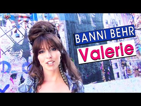 """Valerie - """"Official Video"""" - BANNI BEHR  (Charging Bull Wall Street Bull Mix)"""