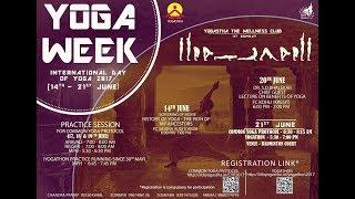 preparation of international day of yoga 2017 iit bombay