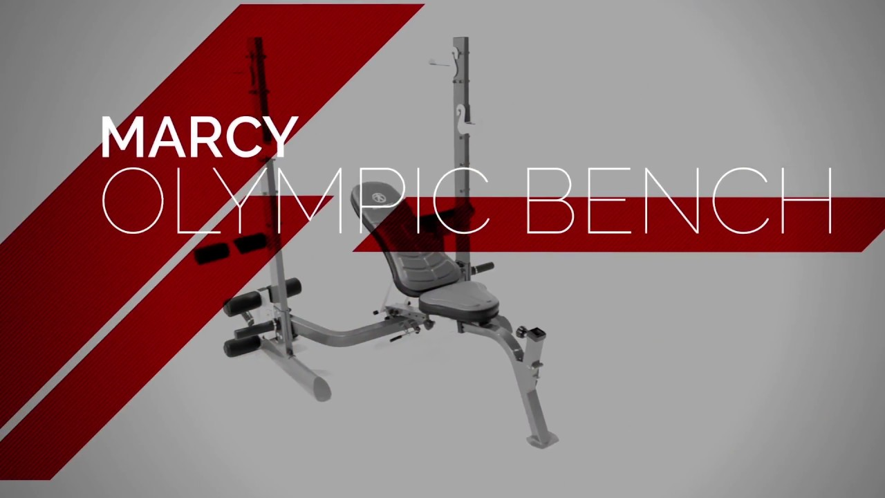 Marcy Multi Position Foldable Olympic Weight Bench Mwb