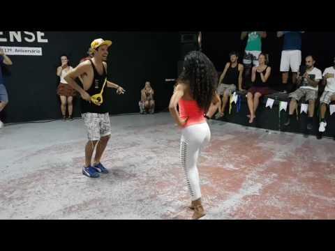 Cleo and David Brazilian Forro Dancing Lisbon Forro Festival