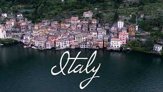 Italy, A Glimpse into beauty - 4K Aerial Cinematic Drone Video
