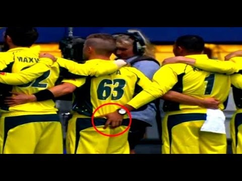 Viral: This Aussie cricketer can't keep hands off his fellow's butt