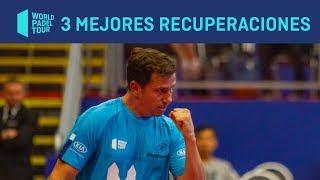 Las tres Mejores Recuperaciones del Sao Paulo Open 2019