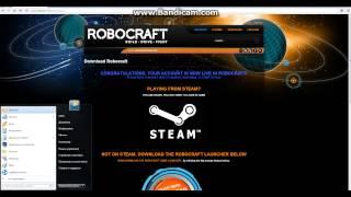 RoboCraft. Регистрация.