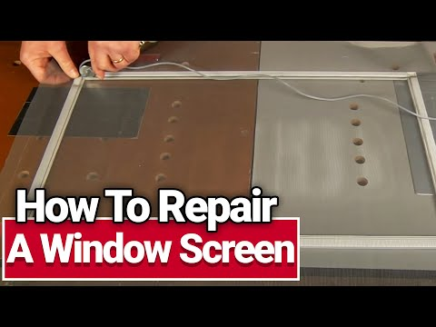 How to Repair a Window Screen -  Ace Hardware