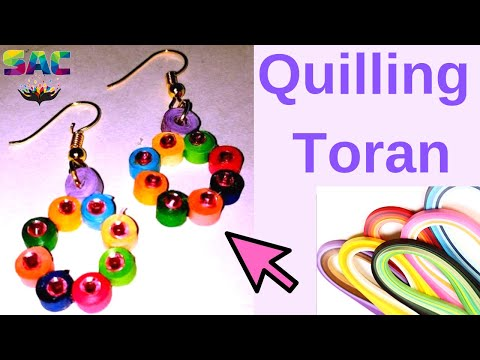 New Model Quilling Papers Earrings Paper Making Tutorial Diy Earring You