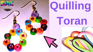 New Model Quilling Papers Earrings | Paper Earrings making tutorial video | DIY Quilling earring