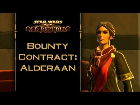 SWTOR: Bounty Contract Alderaan [incl. kill & capture ending]