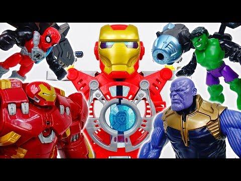 Iron Man Headquarters Is Under Attack~! - ToyMart TV