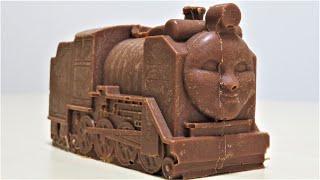 Thomas & Friends Hiro the chocolate engine on the Plarail RiChannel