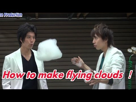 【Exp.2】How to make flying clouds /Yonemura Denjiro/Science Experiment