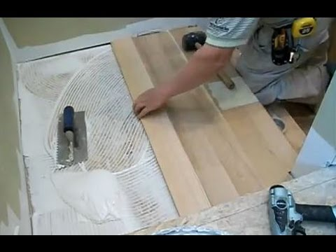 how to install engineered hardwood on stairs video 2