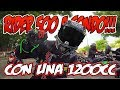 ASI ES LA RIDER 500 DESDE DENTRO!!! ZODZ MOTOVLOG - PARTE 1 ( TRIUMPH TIGER 1200 XCA ONBOARD )