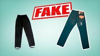 джинсы levi s 501 original real vs fake как распознать подделку