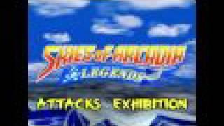 Skies of Arcadia - Attacks Exhibition (1/2) [HD]