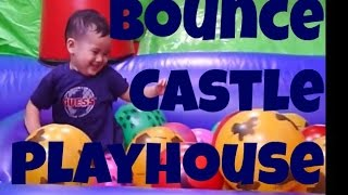 Inflatable Playhouse (bouncy Castle) - Playtime With Zac