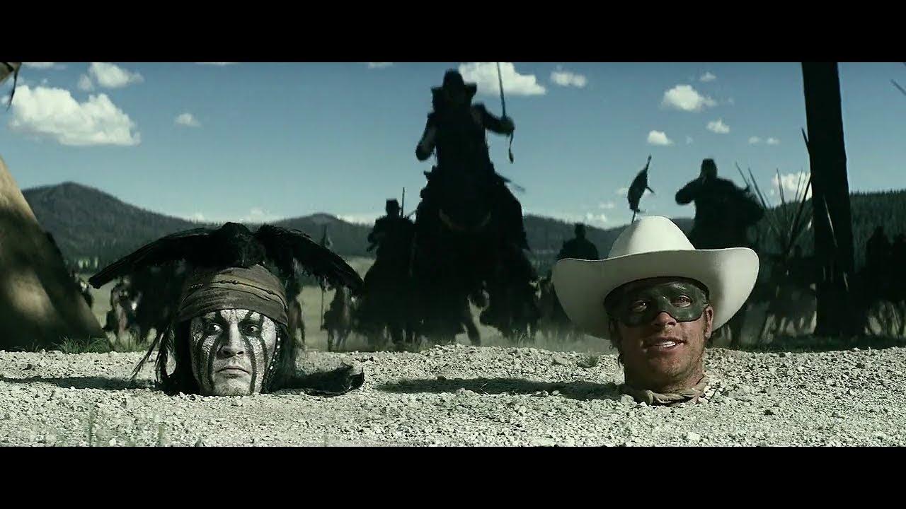 Download The Lone Ranger 2013 720p Blu Ray  Best scenes  4K (Edited)