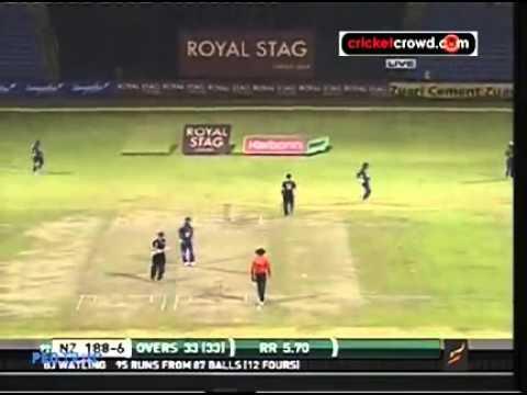 Srilanka vs Newzealand 3rd ODI 2012 Full Match Short Highlights