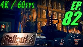 Fallout 4 Walkthrough in 4K Ultra HD / 60fps, Part 82: Super Idiots at Faneuil Hall (Let
