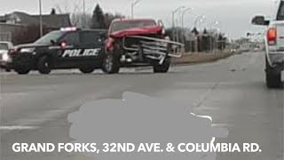 BREAKING NEWS: Serious Thanksgiving Morning Crash In Grand Forks