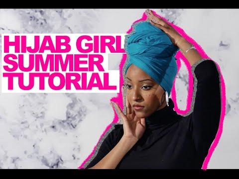 HIJAB GIRL SUMMER TUTORIAL thumbnail