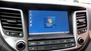 Acceder a Windows CE en Hyundai Tucson 2015 y Kia Sportage 2016