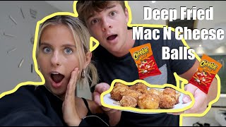 Making DIY Hot Cheeto Mac N Cheese Balls in Quarantine!
