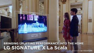 [LG SIGNATURE X La Scala] Enth…
