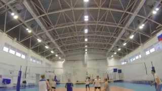 Волейбол от первого лица Ханты-Мансийск 16.08.2015