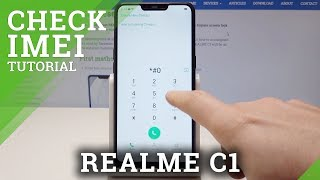 How to Check IMEI in REALME C1 - IMEI & Serial Number Info