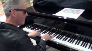 Layin' Down The Boogie Woogie At Guy's Hospital Piano