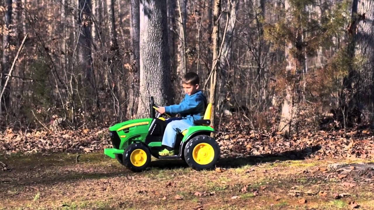 a4bb57781d John Deere Ground Force Tractor (Peg Perego) HD - YouTube
