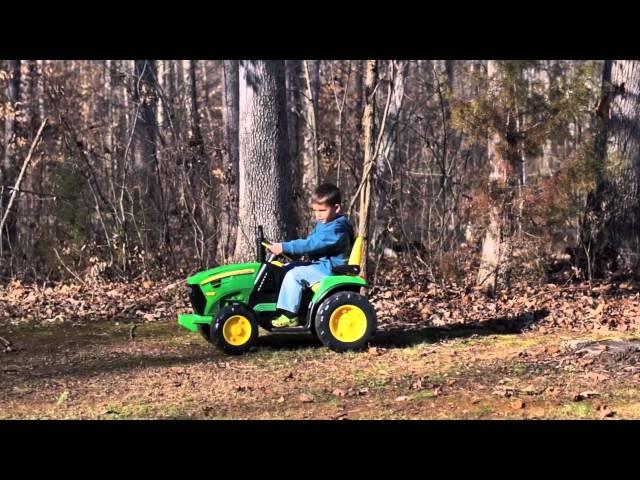 peg perego tracteur john deere ground force 12v voiture lectrique pour enfant prix comparer. Black Bedroom Furniture Sets. Home Design Ideas