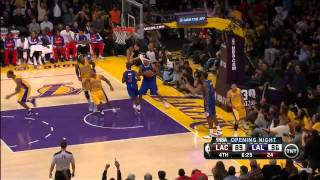 2013.29.10 / Jordan Farmar Highlights @ Los Angeles Clippers