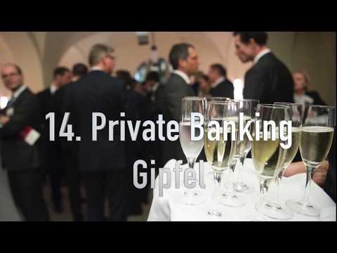 14. Private Banking Gipfel (1) Begrüßung
