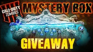 Black Ops 4 Zombies: 'Mystery Box' GIVEAWAY!